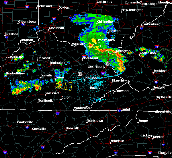 Radar Image for Severe Thunderstorms near McKee, KY at 7/10/2015 3:12 PM EDT
