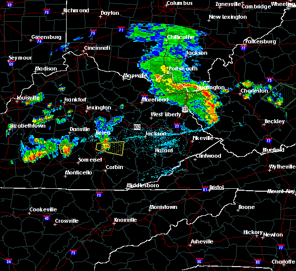 Radar Image for Severe Thunderstorms near McKee, KY at 7/10/2015 3:16 PM EDT