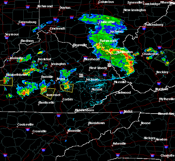 Radar Image for Severe Thunderstorms near McKee, KY at 7/10/2015 3:28 PM EDT