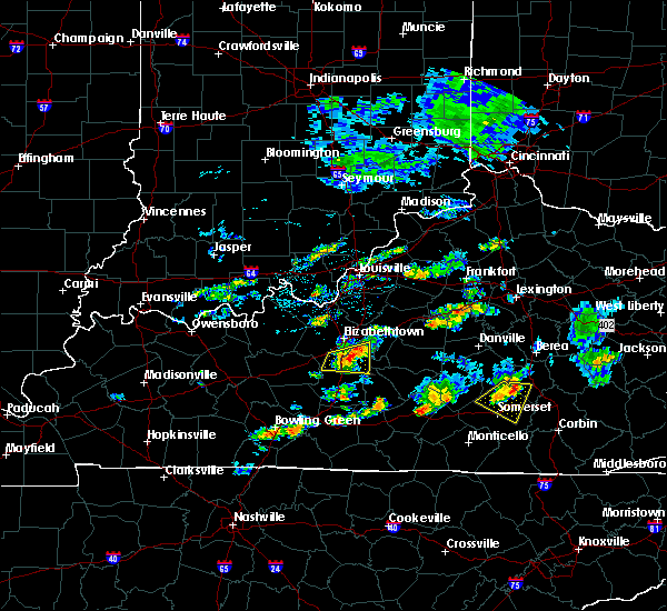 Radar Image for Severe Thunderstorms near Buffalo, KY at 7/10/2015 3:43 PM EDT