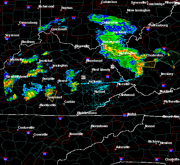 Radar Image for Severe Thunderstorms near Science Hill, KY at 7/10/2015 3:44 PM EDT