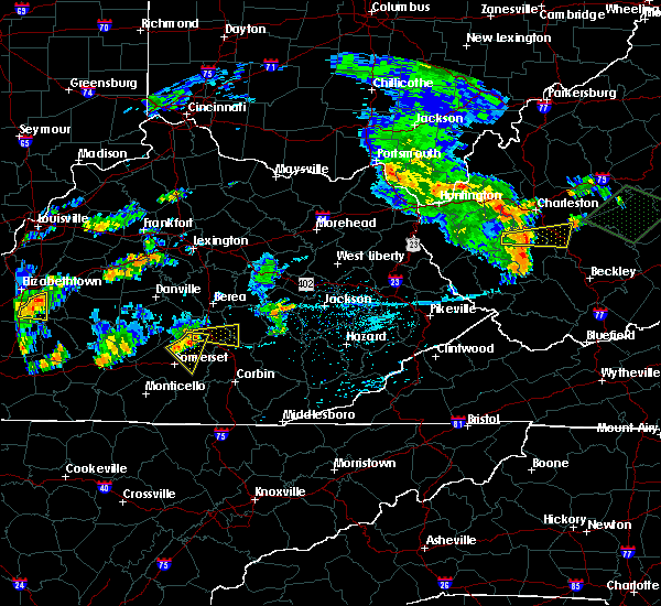 Radar Image for Severe Thunderstorms near Mount Vernon, KY at 7/10/2015 3:47 PM EDT