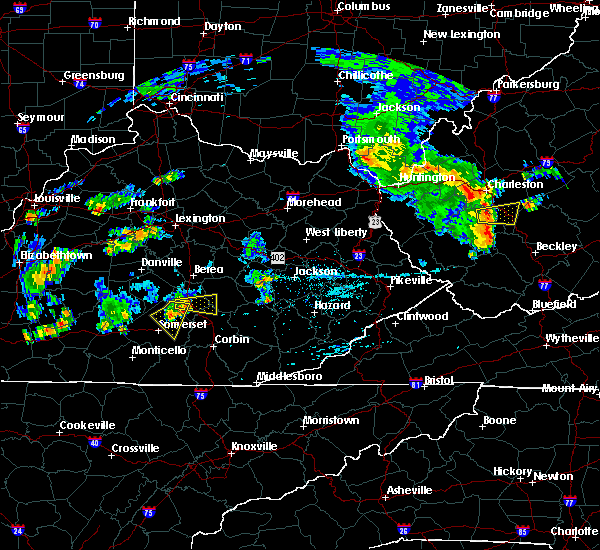 Radar Image for Severe Thunderstorms near Science Hill, KY at 7/10/2015 3:58 PM EDT