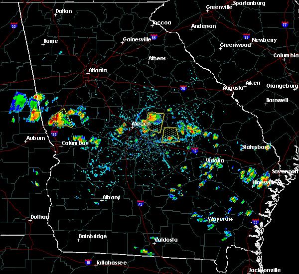 Radar Image for Severe Thunderstorms near Gordon, GA at 7/10/2015 4:03 PM EDT