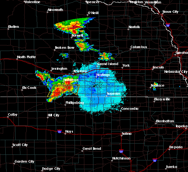Radar Image for Severe Thunderstorms near Franklin, NE at 7/11/2015 12:44 AM CDT