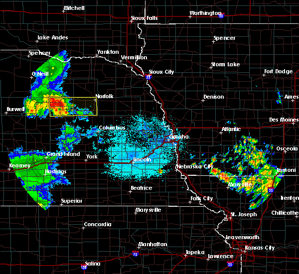 Radar Image for Severe Thunderstorms near Newman Grove, NE at 7/11/2015 2:17 AM CDT
