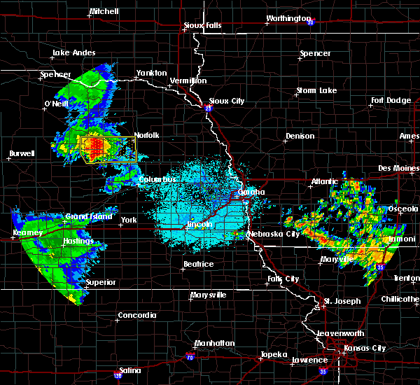 Radar Image for Severe Thunderstorms near Newman Grove, NE at 7/11/2015 2:44 AM CDT