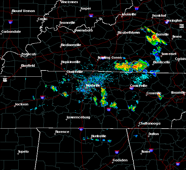 Radar Image for Severe Thunderstorms near Albany, KY at 7/12/2015 3:19 PM CDT