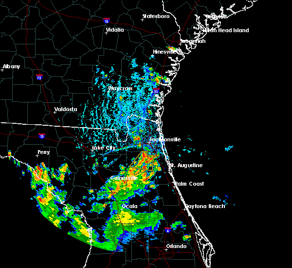 Radar Image for Severe Thunderstorms near Asbury Lake, FL at 7/12/2015 5:36 PM EDT