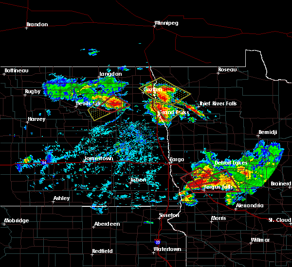 Radar Image for Severe Thunderstorms near Alvarado, MN at 7/12/2015 4:52 PM CDT