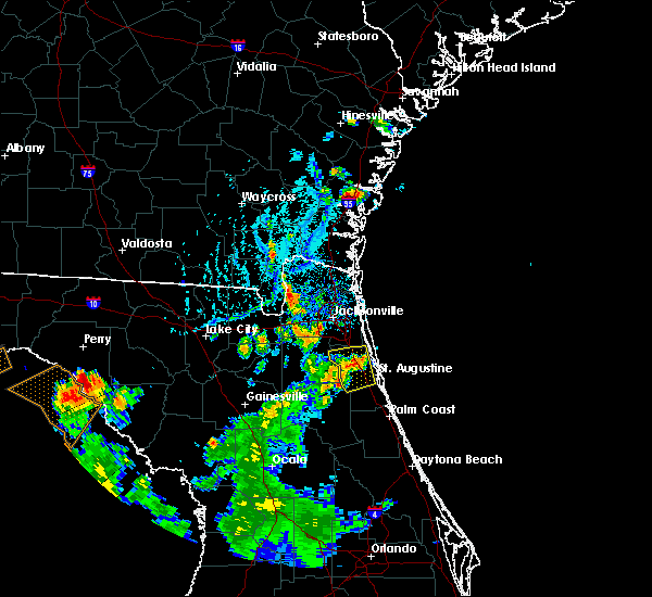Radar Image for Severe Thunderstorms near World Golf Village, FL at 7/12/2015 6:15 PM EDT