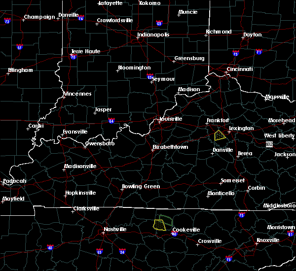Radar Image for Severe Thunderstorms near Nicholasville, KY at 7/12/2015 7:06 PM EDT