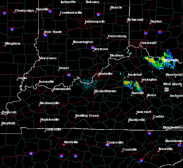 Radar Image for Severe Thunderstorms near Lawrenceburg, KY at 7/12/2015 9:19 PM EDT