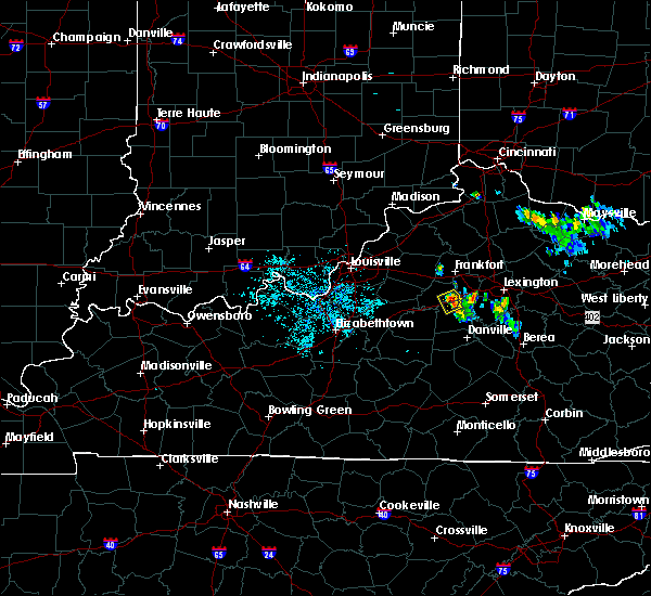 Radar Image for Severe Thunderstorms near Lawrenceburg, KY at 7/12/2015 9:28 PM EDT