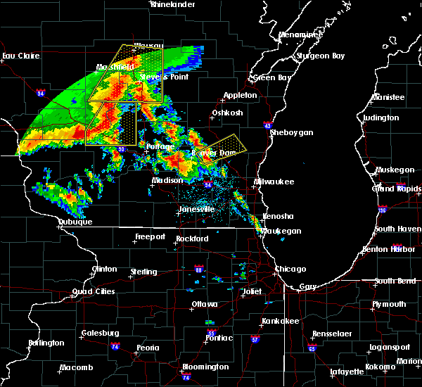 Radar Image for Severe Thunderstorms near Horicon, WI at 7/13/2015 2:45 AM CDT