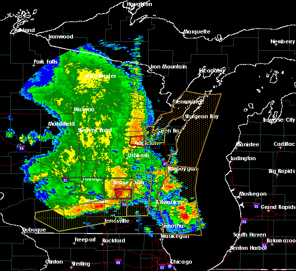 Radar Image for Severe Thunderstorms near Howard, WI at 7/13/2015 4:34 AM CDT