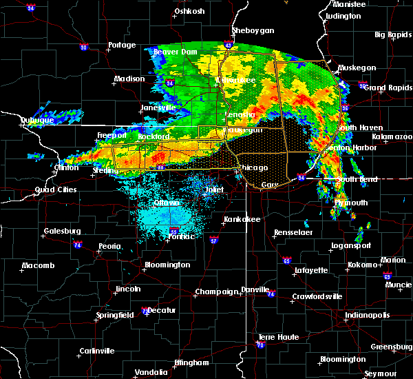Radar Image for Severe Thunderstorms near Elgin, IL at 7/13/2015 6:17 AM CDT