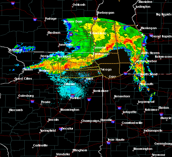 Radar Image for Severe Thunderstorms near Northlake, IL at 7/13/2015 6:26 AM CDT