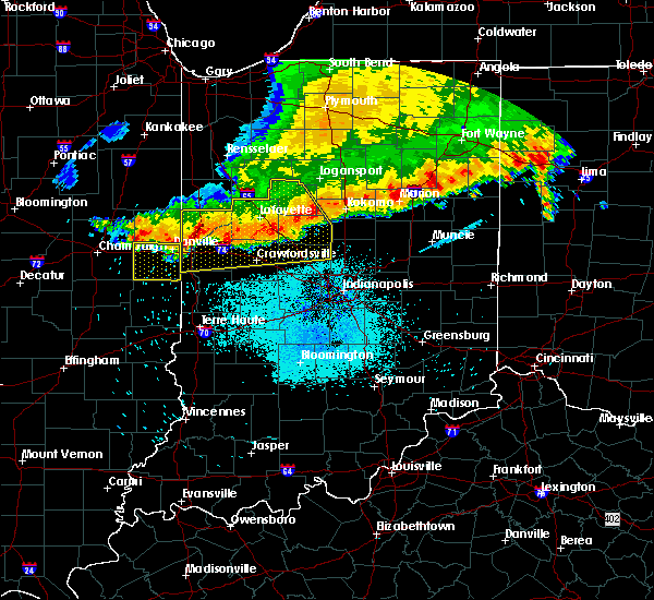 Radar Image for Severe Thunderstorms near Westville, IL at 7/13/2015 10:02 AM CDT