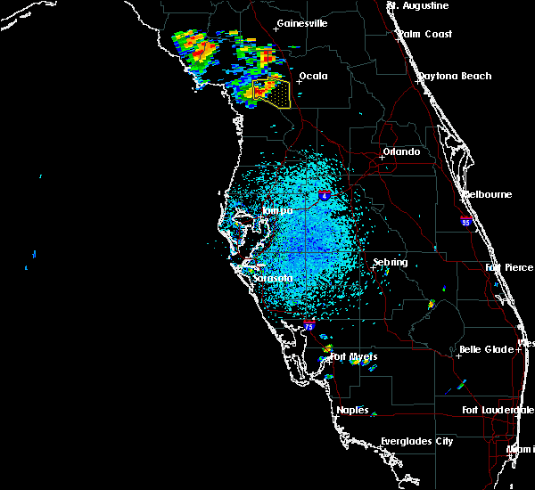 Radar Image for Severe Thunderstorms near Dunnellon, FL at 7/13/2015 1:59 PM EDT