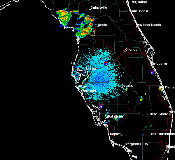 Radar Image for Severe Thunderstorms near Dunnellon, FL at 7/13/2015 2:11 PM EDT