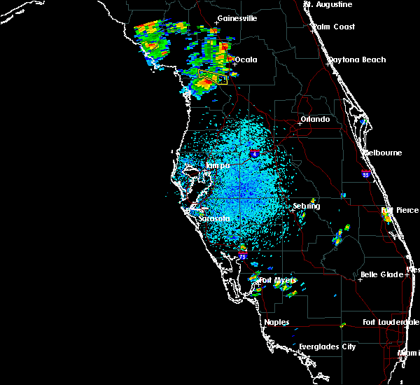 Radar Image for Severe Thunderstorms near Dunnellon, FL at 7/13/2015 2:25 PM EDT