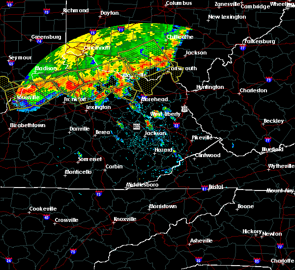 Radar Image for Severe Thunderstorms near Paintsville, KY at 7/13/2015 2:37 PM EDT