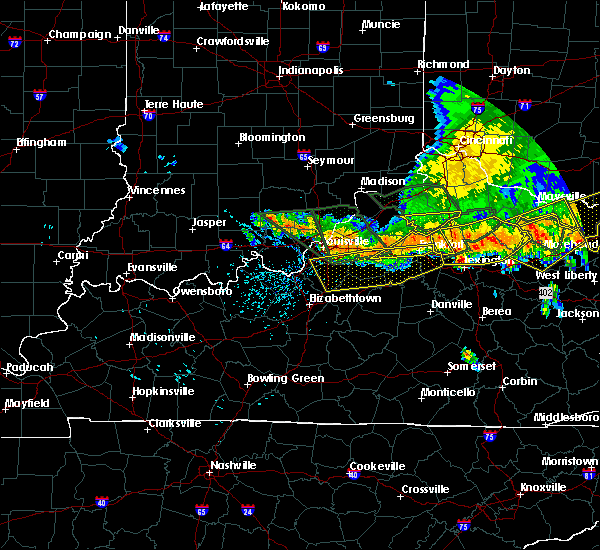 Radar Image for Severe Thunderstorms near Georgetown, IN at 7/13/2015 3:04 PM EDT