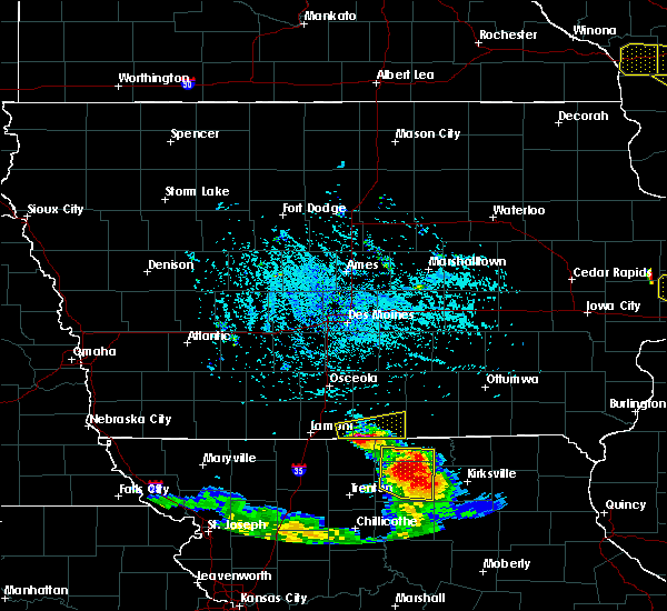Radar Image for Severe Thunderstorms near Clio, IA at 7/13/2015 4:51 PM CDT