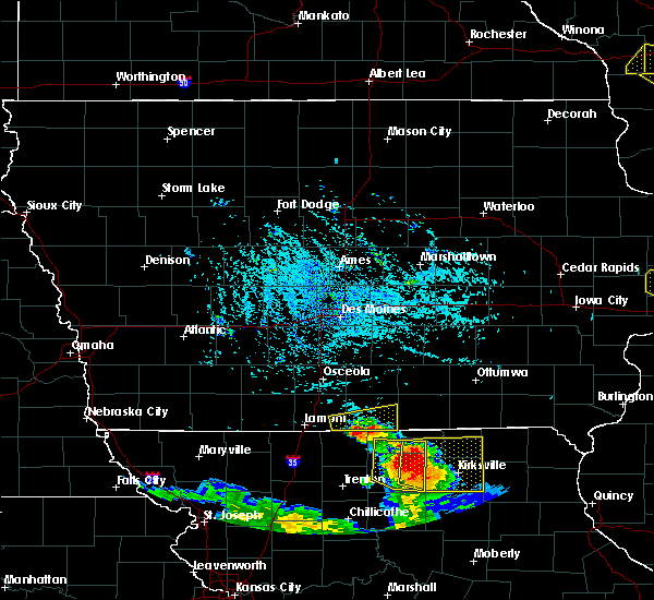 Radar Image for Severe Thunderstorms near Clio, IA at 7/13/2015 5:01 PM CDT