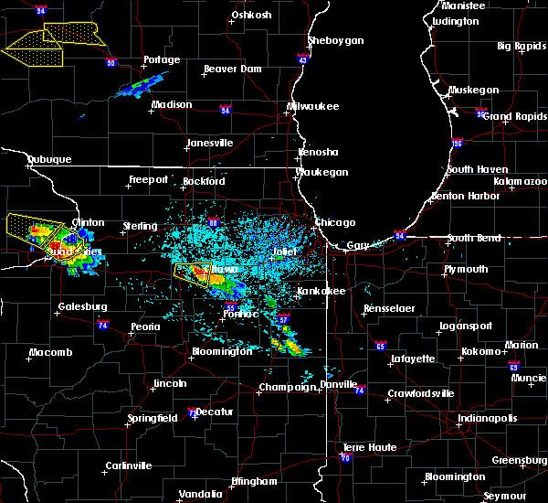 Radar Image for Severe Thunderstorms near Ottawa, IL at 7/13/2015 5:32 PM CDT