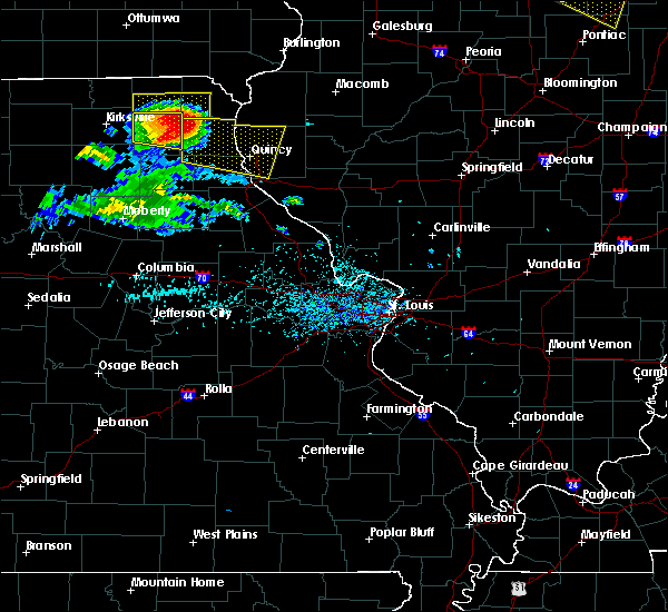 Radar Image for Severe Thunderstorms near Lewistown, MO at 7/13/2015 5:52 PM CDT