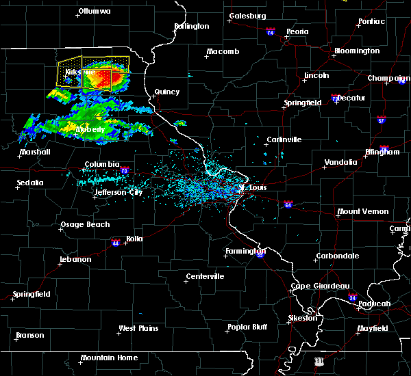 Radar Image for Severe Thunderstorms near Knox City, MO at 7/13/2015 5:55 PM CDT