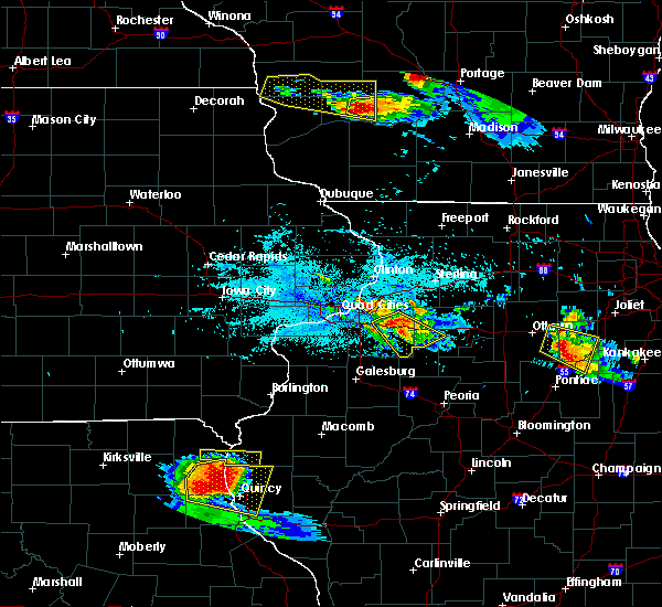Radar Image for Severe Thunderstorms near Kewanee, IL at 7/13/2015 6:15 PM CDT