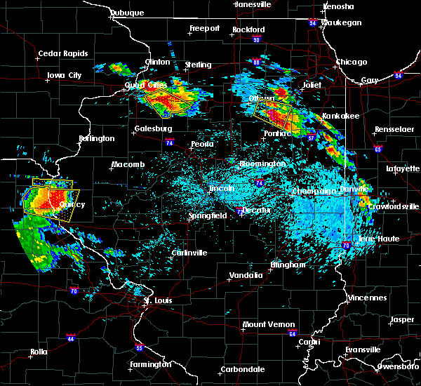 Radar Image for Severe Thunderstorms near Barry, IL at 7/13/2015 6:23 PM CDT