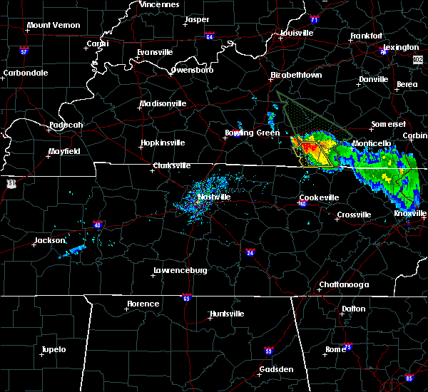 Albany Weather Map.Interactive Hail Maps Hail Map For Albany Ky
