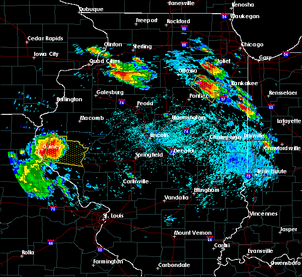 Radar Image for Severe Thunderstorms near Plainville, IL at 7/13/2015 6:40 PM CDT