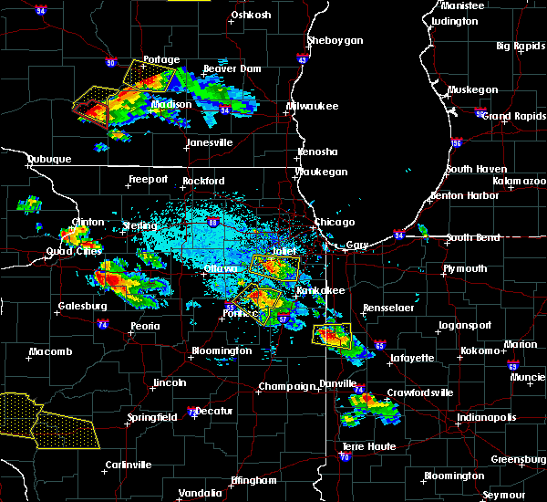 Radar Image for Severe Thunderstorms near Sheldon, IL at 7/13/2015 7:52 PM EDT