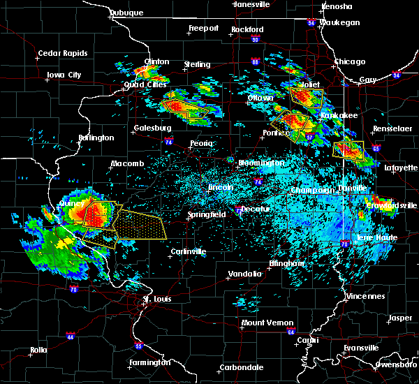 Radar Image for Severe Thunderstorms near Barry, IL at 7/13/2015 7:01 PM CDT
