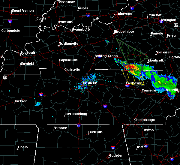 Radar Image for Severe Thunderstorms near Albany, KY at 7/13/2015 7:02 PM CDT