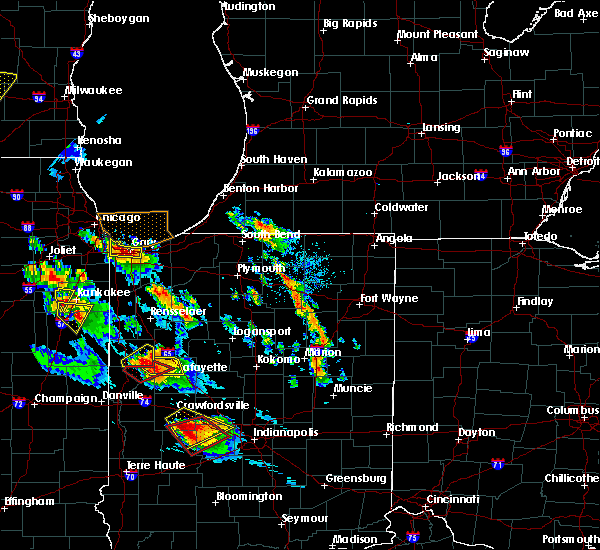 Radar Image for Severe Thunderstorms near Winamac, IN at 7/13/2015 8:59 PM EDT