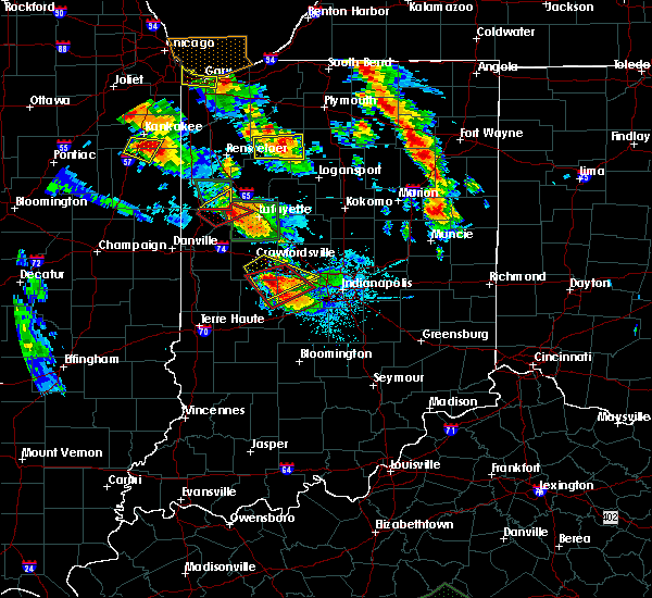 Radar Image for Severe Thunderstorms near Bainbridge, IN at 7/13/2015 9:14 PM EDT