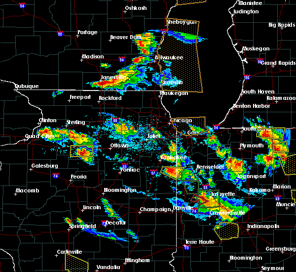 Radar Image for Severe Thunderstorms near Hennepin, IL at 7/13/2015 8:36 PM CDT