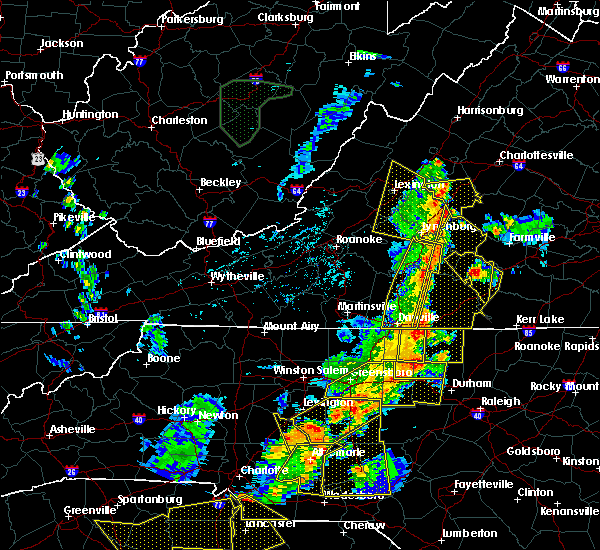 Radar Image for Severe Thunderstorms near Arrington, VA at 7/13/2015 9:40 PM EDT