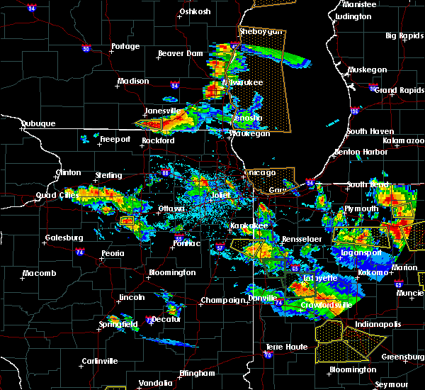 Radar Image for Severe Thunderstorms near Lisle, IL at 7/13/2015 8:49 PM CDT