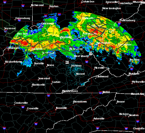 Radar Image for Severe Thunderstorms near Carlisle, KY at 7/14/2015 1:54 AM EDT