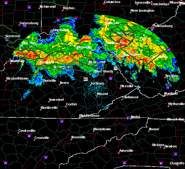 Radar Image for Severe Thunderstorms near Carlisle, KY at 7/14/2015 2:02 AM EDT
