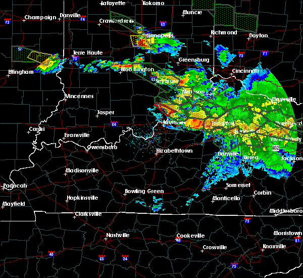 Radar Image for Severe Thunderstorms near Utica, KY at 7/14/2015 2:28 AM EDT