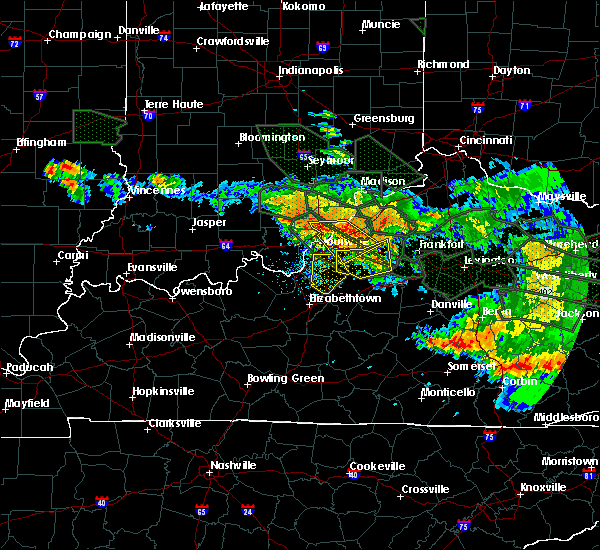 Radar Image for Severe Thunderstorms near Hillview, KY at 7/14/2015 5:05 AM EDT