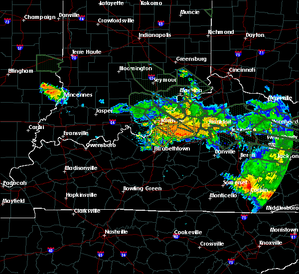 Radar Image for Severe Thunderstorms near Bardstown, KY at 7/14/2015 5:14 AM EDT